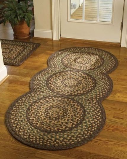 Woodbine Braided Rug Runner