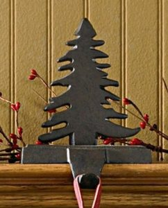 Fir Tree stocking hanger