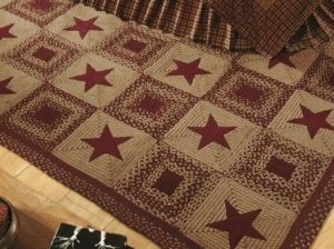 Country Star Braided Rug