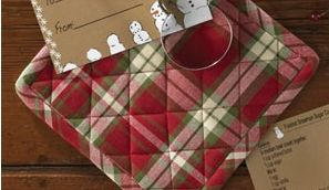 holiday kitchen linens