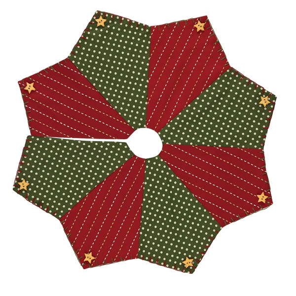 Home for the holidays tree skirt