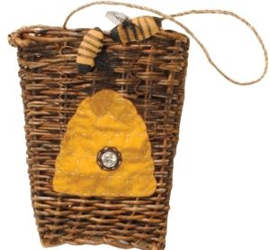 Bee hive  basket