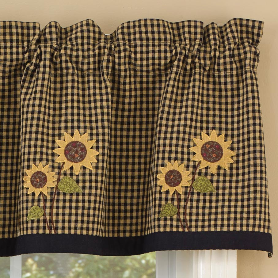 PKD-379-47-Sunflower-Check-Lined-Valance-LRG