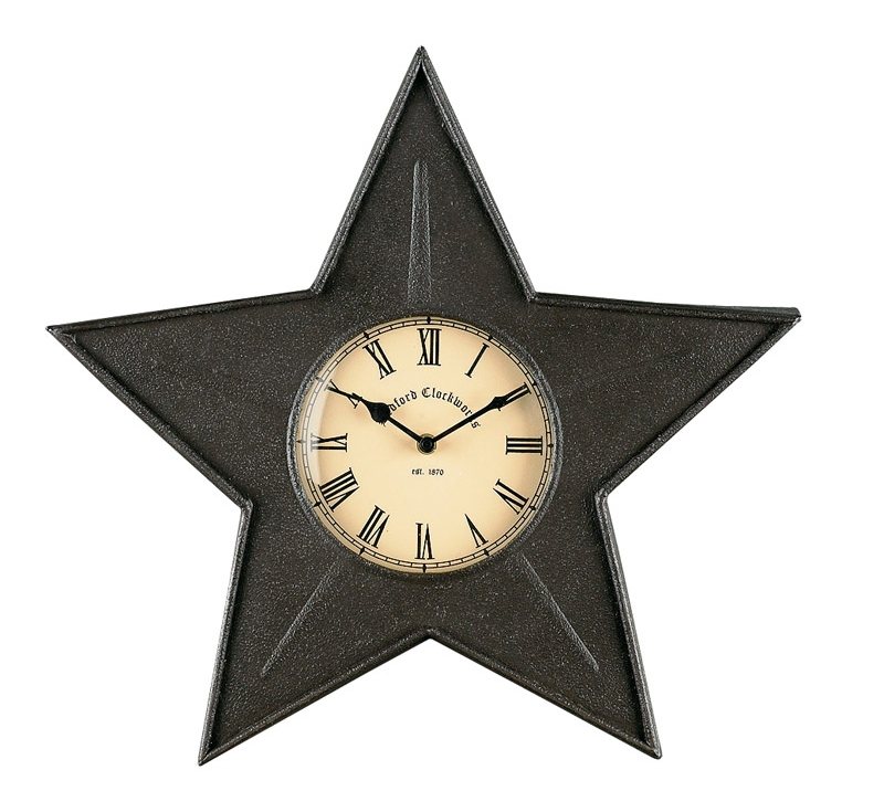 22-673-Black-Star-Metal-Clock_LRG