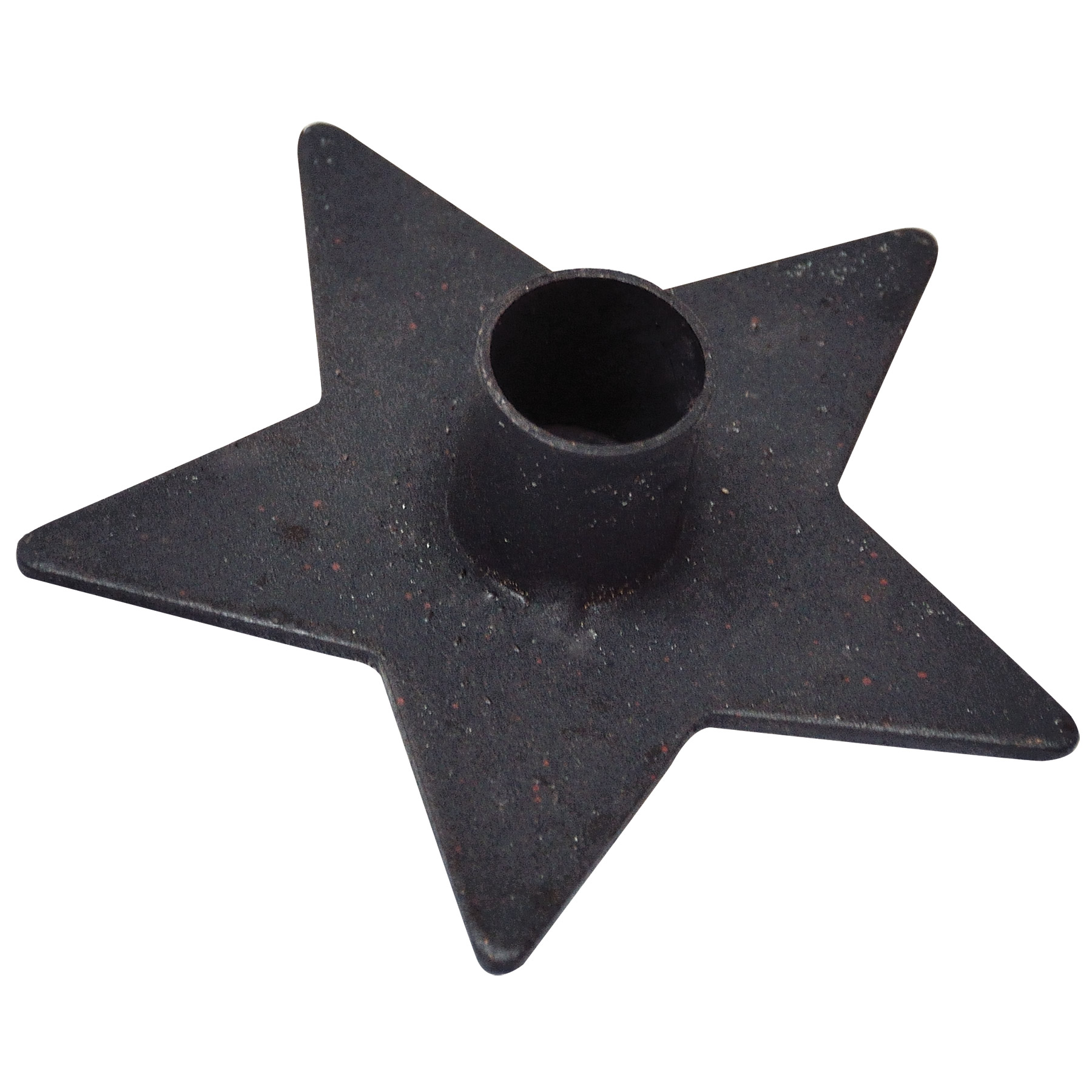 hrs-46205-distressed-star-candle-holder-lrg