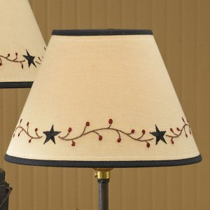 Star Berry Vine lampshade