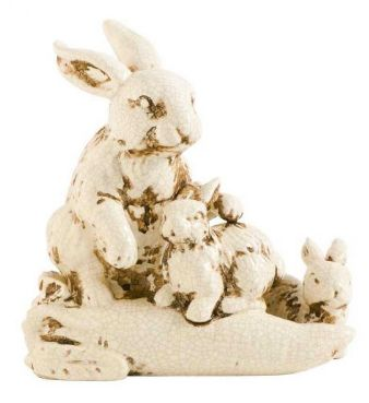 antique-white-ceramic-rabbits
