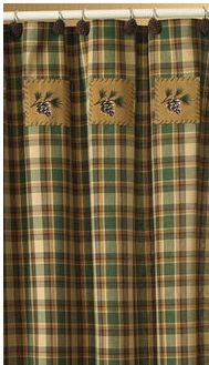 scotch-pine-shower-curtain