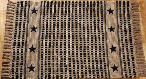 Black Star Rug Archives Primitive Home Decors