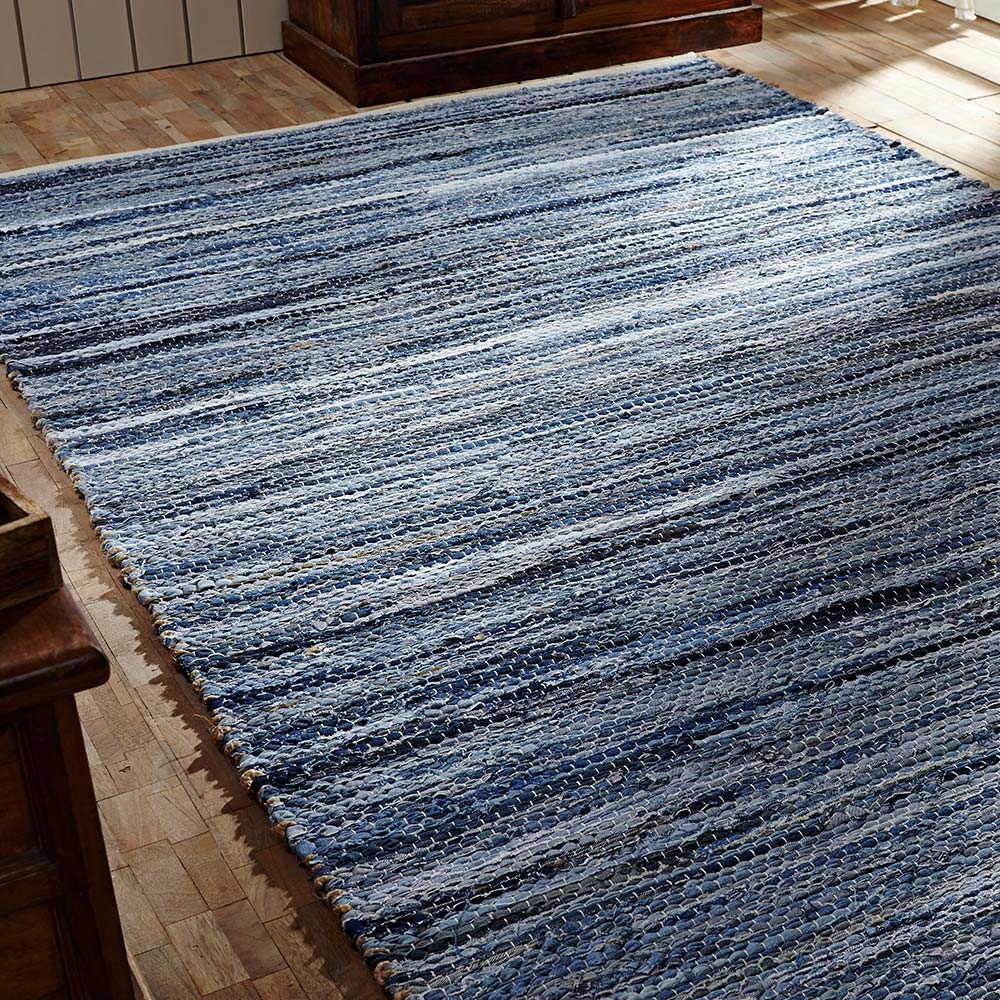 Denim Chindi Rag Rug: This Just In! Jute And Rag Rugs From Victorian Heart