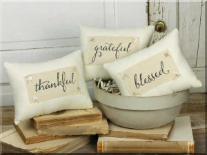 Rustic Chic fall pillow set