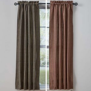 Town and Country Curtain Panels