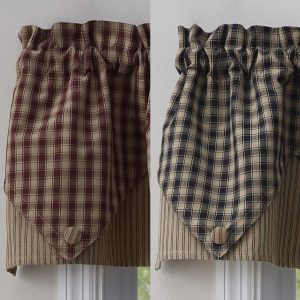 Town and Country Point Valance
