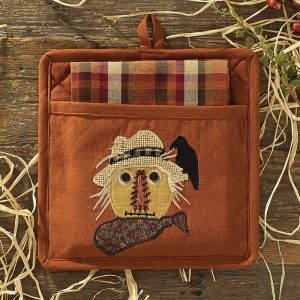 scarecrow potholder set