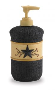 Star vine bath soap dispenser