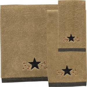 Star Vine towels