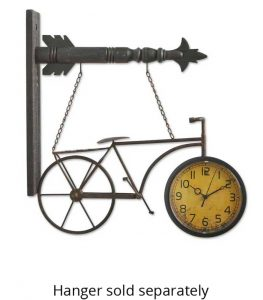 Metal Bicycle Clock Arrow Replacement