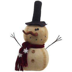 Top Hat LED snowman