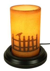 Picket fence candle sleeve