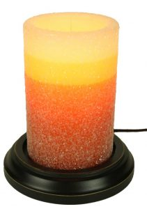 Gumdrop candy corn candle sleeve