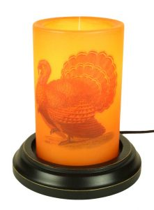 Turkey candle sleeve