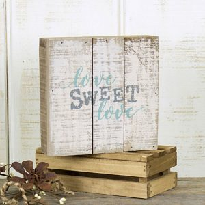 Love Sweet Love pallet sign