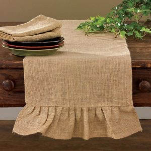 Jute Burlap table linens