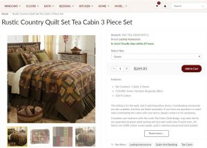 Primitive Home Decors bedding sets