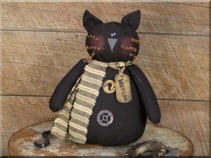 Merlin Salvage Cat doll