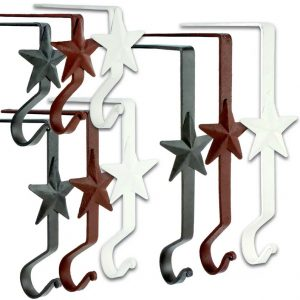 Plain star stocking hanger