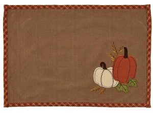 Pumpkin Patch place mat