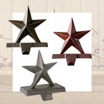 Star stocking hangers