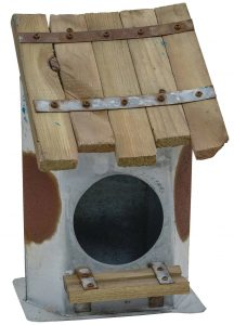 Galvanized Birdhouse