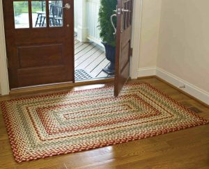 Mill Village Cotton Braided Rug