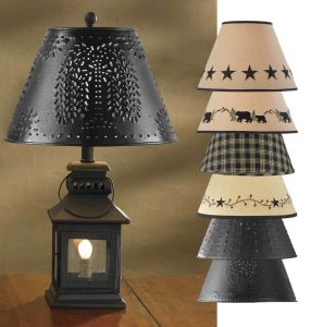 Lamp and Shade Set