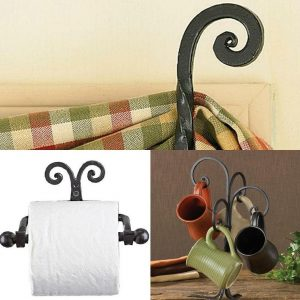 Scroll iron accessories