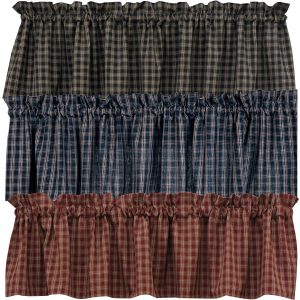 Sturbridge plaid valance pkd-315-47