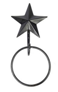 Black Star Towel Ring
