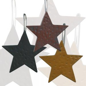 Star Shower Curtain Hooks
