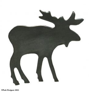 Moose Iron Napkin Ring
