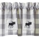 WIcklow Moose Patch Lined Valance