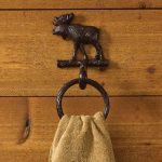 Cast Moose Towel Ring Hoo