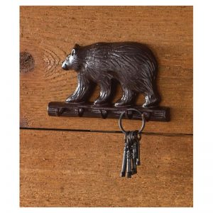 Cast Bear Key Hook