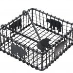 Black Bear Wire Napkin Holder
