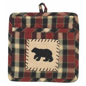 Concord Bear Patch Pot Holder with Pocket