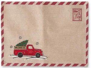 Red Truck placemat