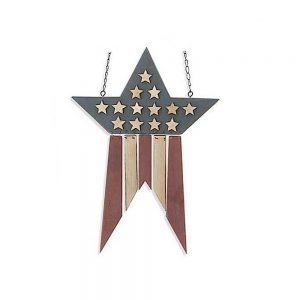 Americana hanging plaque