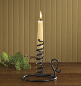 Courting candle holder