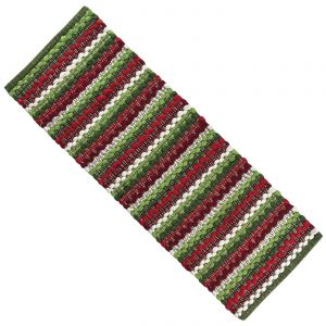 wintergreen chindi table runner