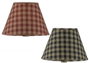Park Designs sturbridge fabric lamp shades